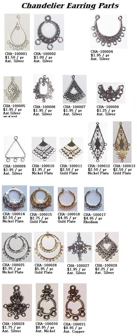 Earring parts ebay